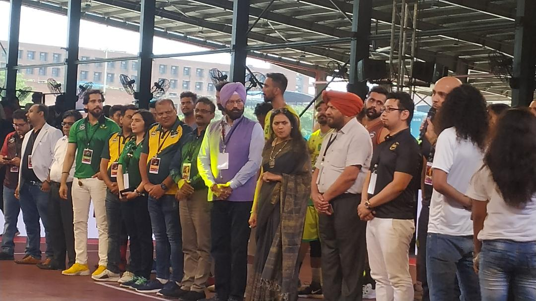 RANA SODHI INAUGURATES 3X3 PRO BASKETBALL LEAGUE INDIAN SUB-CONTINENT