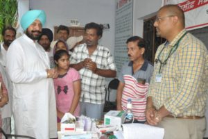 Health department fully geared up to control spread of any disease in flood hit areas- Balbir Singh Sidhu