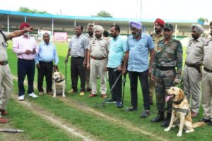 ANTI-SABOTAGE AND DOG SQUAD TEAMS PUT INTO ACTION AHEAD OF STATE LEVEL I-DAY FUNCTION
