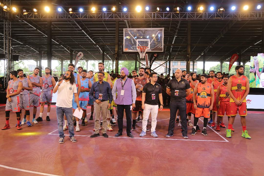 Sports Minister (Punjab) inaugurated 3X3 Pro Basketball League Season -2 Matches at LPU Campus