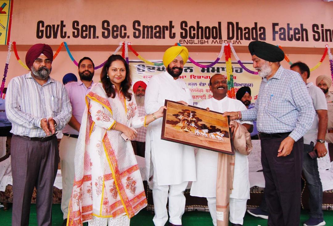 प्रदेश में 4700 से अधिक सरकारी स्कूलों को स्मार्ट स्कूल में किया जा चुका है तब्दील: कैबिनेट मंत्री सिद्धू