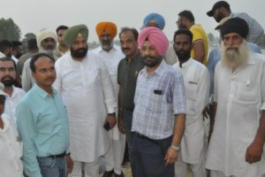 Sarkaria directs Drainage department to plug all breaches in Shahkot within a week