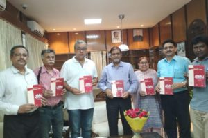 Dept of Hindi releases a new issue of its research journal Parishodh