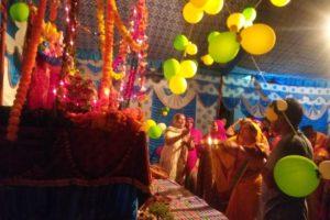 गणपति महाराज शहर के घर घर को खुशहाल रहने का आशीर्वाद देने आए हैं -भारती सैनी