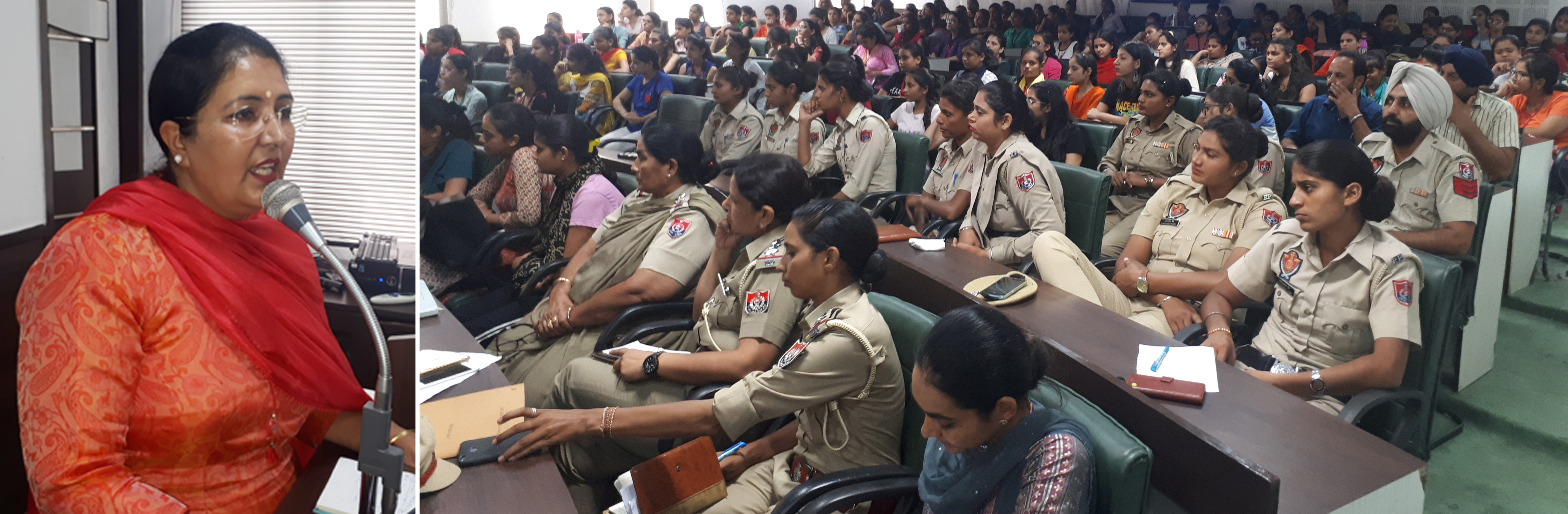 LEGAL EXPERTS THROW LIGHT ON VARIOUS WOMEN LAWS ON SECOND DAY OF LEGAL AWARENESS SEMINAR