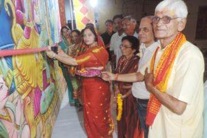 भगवान राम के चरित्र से ही हमें सही जीवन जीने प्रेरणा मिलती है: भारती सैनी