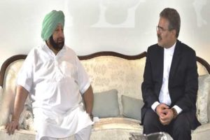 Amarinder moots a Punjab Iran Chamber of Commerce to boost trade, invites Iranian Envoy to 550th Prakash Purb