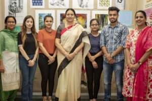 Apeejay College of Fine Arts students garnered glory in results