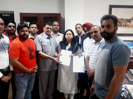 Delegation of Rice Millers Association calls on Director Food,Civil Supplies & Consumer Affairs