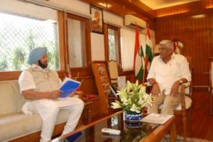 PUNJAB CM ASKS CENTRAL GOVERNMENT FOR COMPREHENSIVE MECHANISM TO CHECK RECURRING FLOODS
