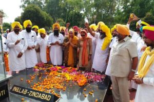 Shaheed Bhagat Singh's niece Gurjeet Kaur Dhatt pays tributes on his 112th birth anniversary, raises voice for Bharat Ratna