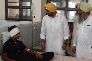 Khaira demands Rs 25 lakh compensation, job for kin of each of Batala blast victims