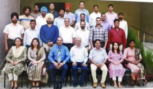 Major Pardeep Kumar successfully conducted DTS Course for DOPT at MGSIPAP Chandigarh