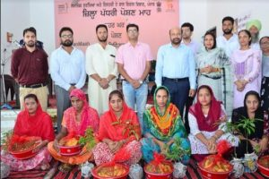 'Poshan Maah' launched for pregnant women, mothers and malnourished children in District Sangrur