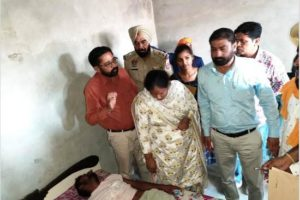 Punjab SC Commission members visit victim's family, order to register case against accused