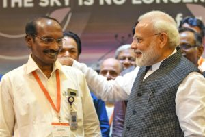 Prime Minister Lauds the efforts of India's Space Scientists.