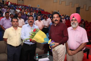 Teacher's Day celebrated at IKGPTU with full enthusiasm