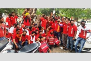 Rival thrive with delivery orders owning to Zomato boys agitation in Ferozepur