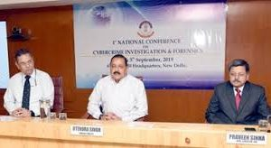 DR. JITENDRA SINGH ADDRESSES 1ST NATIONAL CONFERENCE ON CYBER CRIME INVESTIGATION AND FORENSICS AT CBI (HQ)