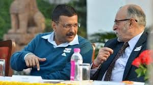 CM meets Hon'ble LG to apprise him about the govt decision to implement Odd-Even