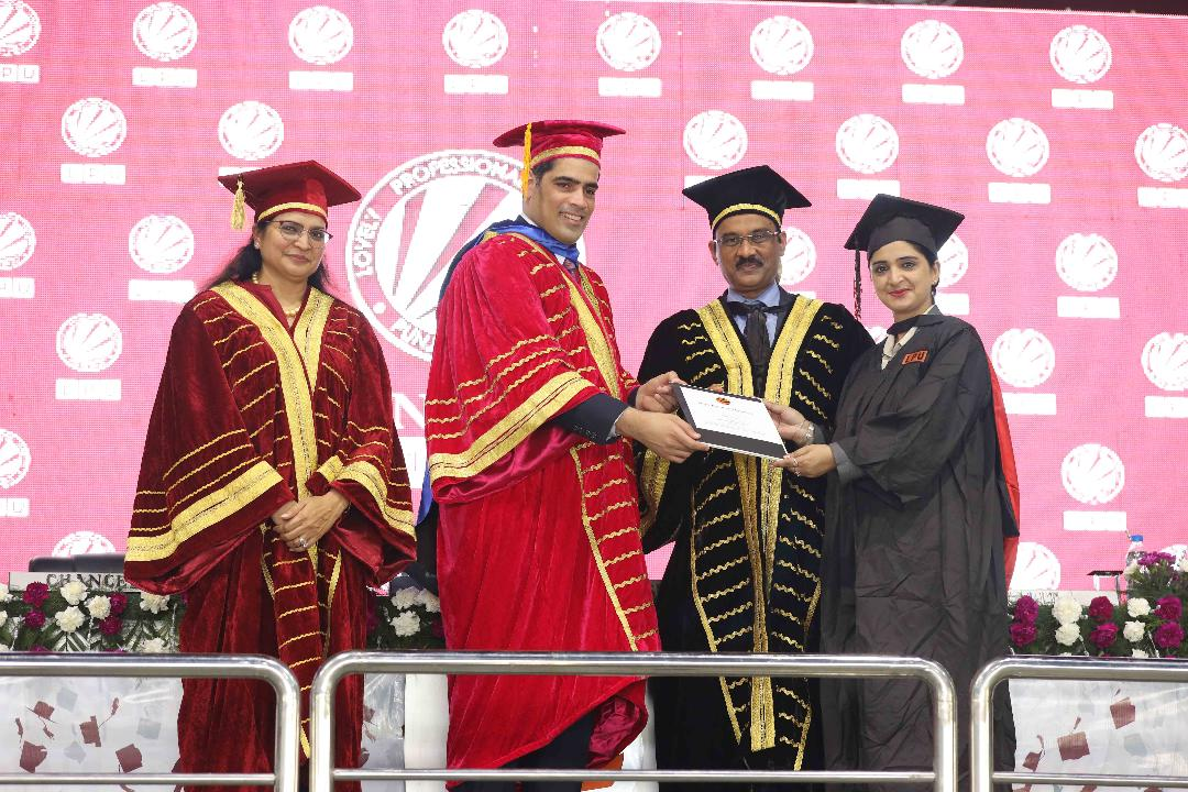 Vice-President of South American Country 'Suriname' chaired LPU's 10th Convocation