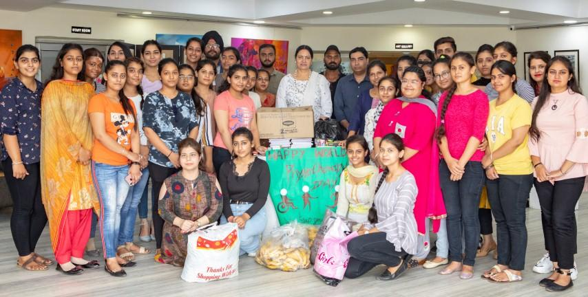 Apeejay College of Fine Arts celebrates 'World Physiotherapy Day'