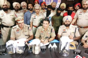 Joint CIA police team, Jalandhar solves Rs 3,50 Lac  snatching scam of  Co-operative Society of Dialpur, recovers arms and live cartridges