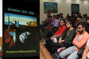 Film Appreciation Course going on in Apeejay College of Fine Arts
