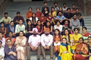 Educational Trip to IISER Mohali by S. Balbir Singh Centre for Sciences, Lyallpur Khalsa College