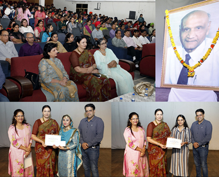 Apeejay College of Fine Arts celebrated 100th Birth Anniversary of Founder Chairman, Dr. Stya Paul
