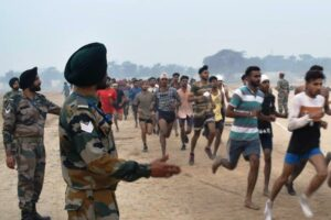 ARMY RECRUITMENT RALLY AT KHASA MILITARY STATION (AMRITSAR)