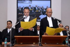 Chief Justice administers oath to one new High Court Judge