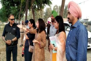 Sultanpur Lodhi : DIPR Mitra takes stock of preparations for Digital Museum, Light & Sound show