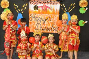 """Four Schools of Innocent Hearts Echoed with """"Jai Shree Ram"""" on the occasion of Dusshera"""