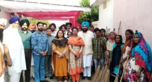 Ahead of Diwali, MLA Harjot Kamal kicks off cleanliness drive in Moga