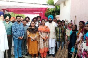 Ahead of Diwali, MLA Harjot Kamal kicks off cleanliness drive in Moga