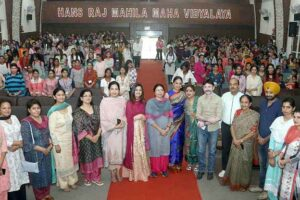 "HMV organized screening of Telefilm ""Nanak Noor-E-Ilahi"""