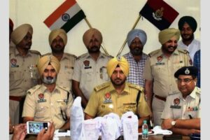 CIA staff recovers 7.188 kg heroin near Indo-Pak border