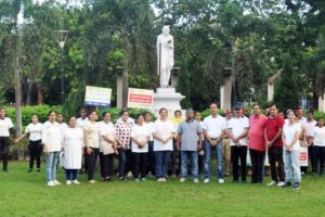 HUMAN CHAIN FORMED TO SENSITIZE PEOPLE ABOUT MALNUTRITION AND ANAEMIA  POSHAN MAAH CONCLUDES