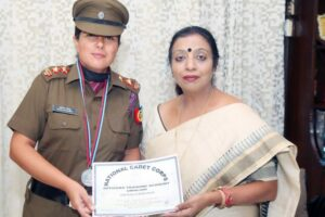 Sonia Mahendru, Assistant Professor of HMV commissioned as Lieutenant