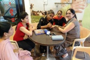Adorn your hand with best mehndi designs of the season at Gobind Dairy on eve of Karva Chauth