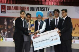 Government Law College Mumbai wins 3rd National Moot Court competition held at Chandigarh University