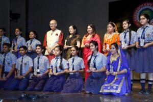Sanskriti KMV school celebrate its Annual Awards Day