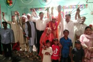 Valmiki Jayanti in Lahore:  Imtiaz Qureshi, Chairman Shaheed Bhagat Singh Memorial Foundation joins celebrations