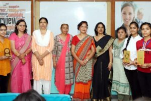 Declamation held at PCM SD College for Women, Jalandhar in collaboration with 'Ved Prachar Mandal'