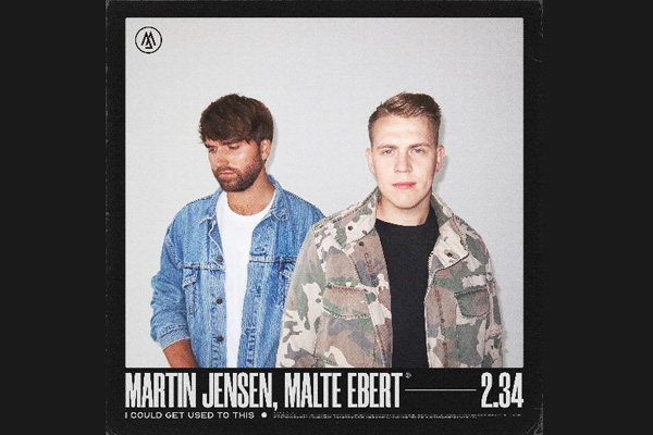 Martin Jensen links up with Malte Ebert on feelgood new single 'I Could Get Used To This'