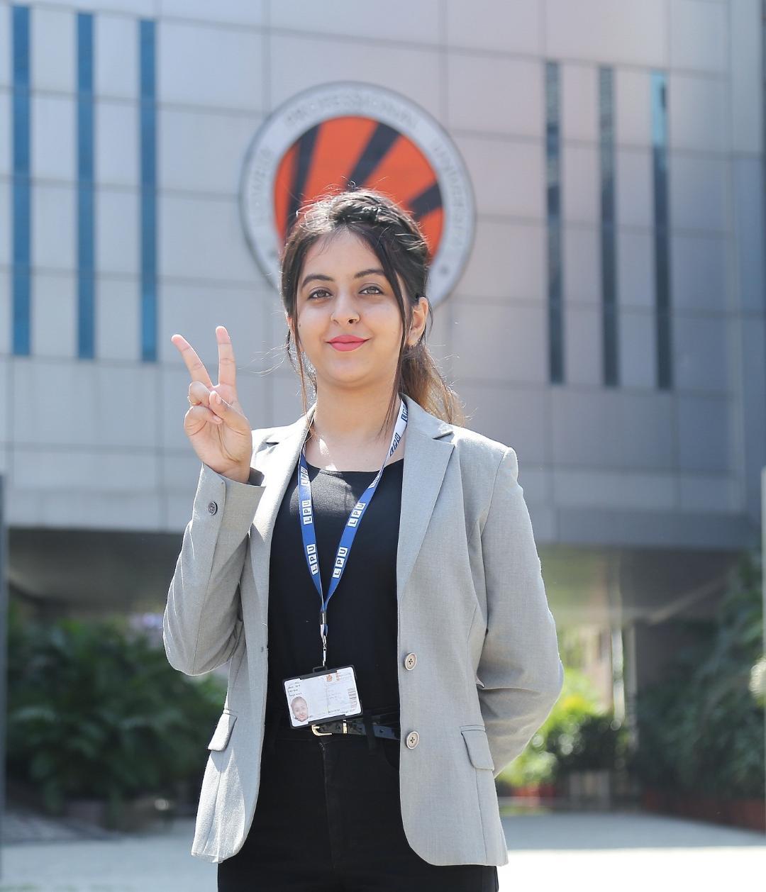 LPU Engineering Student bags Rs 42 lakh Job in Microsoft