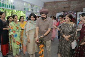 "Exhibition """"NAYAAB"" at Guru Nanak Dev University"
