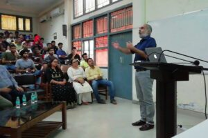 Lecture on 'Economic Development in India: Past, Present and Future' organized at Guru Nanak Dev University