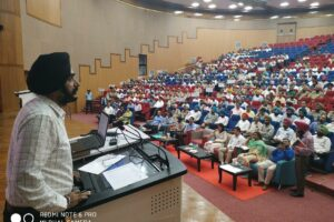 Dist admin imparts training to 650 employees on lines at Gen elections for 550th Gurpurab celebration